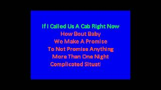 Karaoke Lady Antebellum - Looking For A Good Time