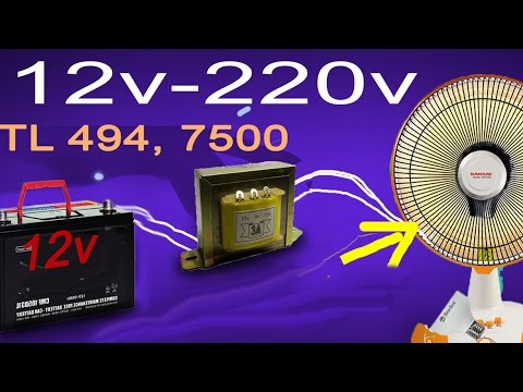 12V to 220V inverter, how to make a power inverter for car 500w