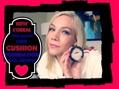L'OREAL NEW LUMI CUSHION FOUNDATION - Full Review & How to find out your skin undertone