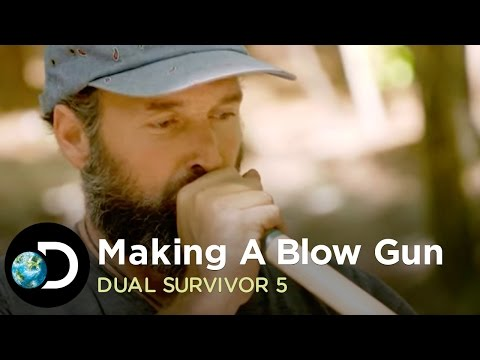 How To Make A Blow Gun | Dual Survival 5