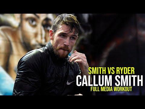 Callum Smith - FULL MEDIA WORKOUT | Smith Vs. Ryder