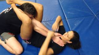 Jiu Jitsu Rape Choke Defense - Gina Begley, 10th Planet Richmond