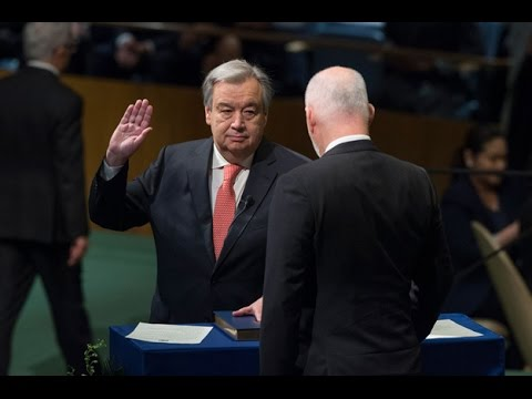 Oath of office of the Secretary-General-designate, 60th plenary meeting, 71st Session