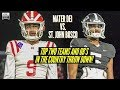 Mater Dei vs. St. John Bosco 2019 - BATTLE of the country's TOP TWO teams and QB's!
