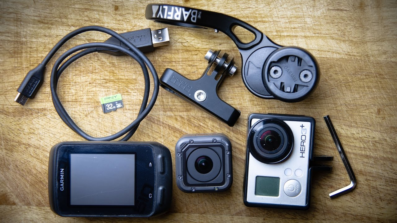 Making a Cycling Video with Overlays - My GoPro and Garmin Settings