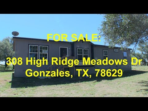 Gonzales HUD Homes -- HUD King tours 308 High Ridge Meadows Dr