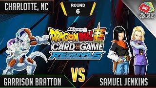 Dragon Ball Super Card Game Gameplay [DBS TCG] Charlotte Regional Round 6