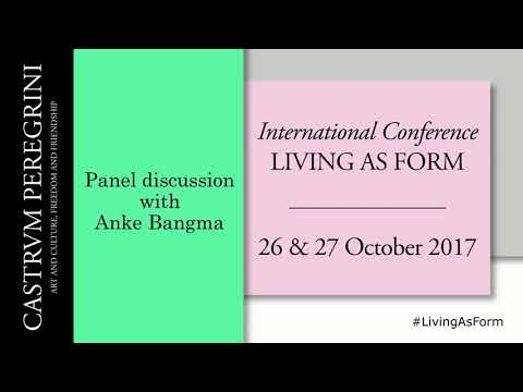 Living As Form - EAP conference  Amsterdam 26 & 27 Oct 2017