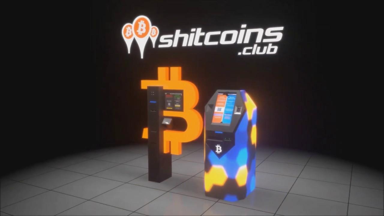 Shitcoins.club bankomaty bitcoin - YouTube