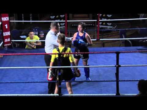 Lewis Cook Renegade Muay Thai vs Fabijus Rackauskas M.T.M.A. Blood And Glory 6