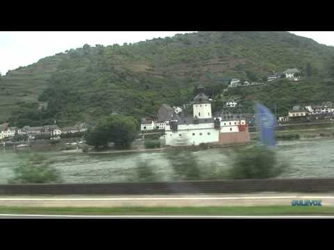 Train ride through the valley of the Rhein