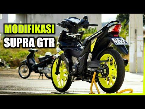 Kumpulan Modifikasi Honda Supra GTR 150