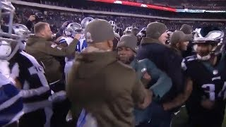 Eagles & Cowboys Players SEPARATED After HUGE FIGHT Before Kickoff!