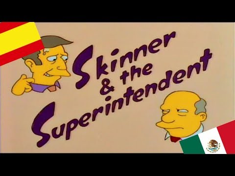 Steamed hams but Skinner family is Spanish and Chalmers is from Mexico