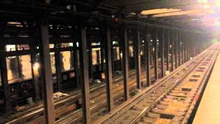IRT Broadway-Seventh Avenue Line: Downtown & Uptown R142 & R62 (2) (3) Trains @ 135 Street-Lenox