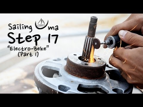Our Electric Motor  (Electro-Beke, part 1) — Sailing Uma [Step 17]