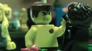 LEGO Terminator 2: Judgment Day - Biker Bar Scene