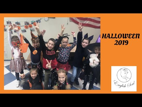 Halloween 2019 / ESL Lesson for Kids / by English Soul