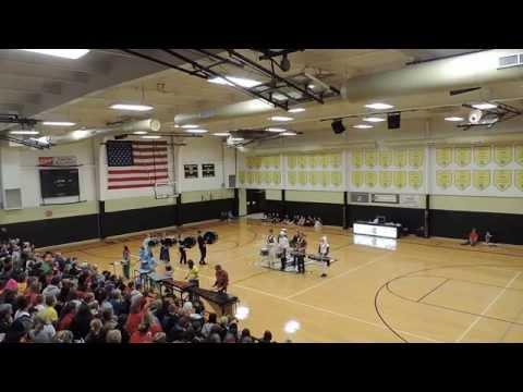 lawson high school drumline trenton perfofmance 2014