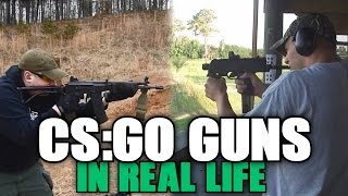 CS:GO Guns in Real Life