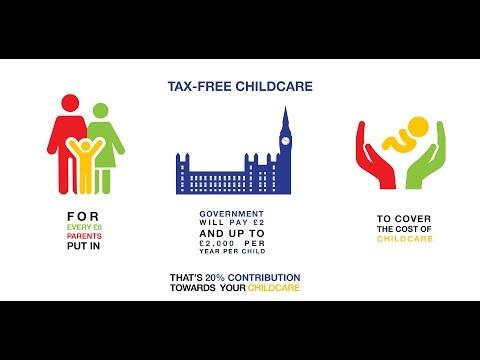 Tax-Free Childcare - New Government Scheme 2017