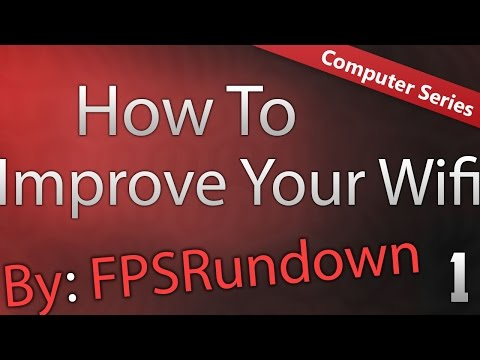 ★How To Improve Wifi Card and Router/Modem Windows 10★