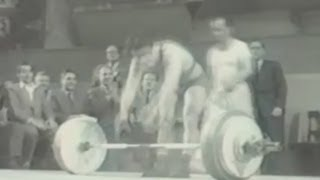 1954 World Weightlifting Championships.