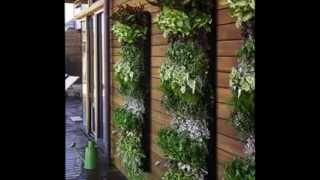 Creative Vertical Planter Diy Design Ideas
