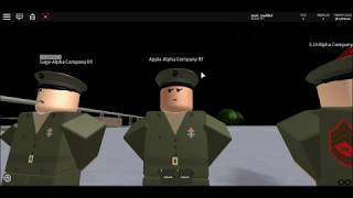 United State's Marine Corps | Inspection | Roblox | Training