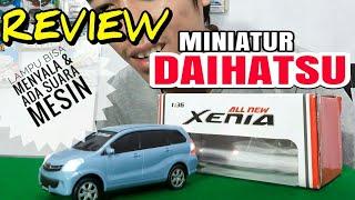 MINIATUR DAIHATSU ALL NEW XENIA REVIEW