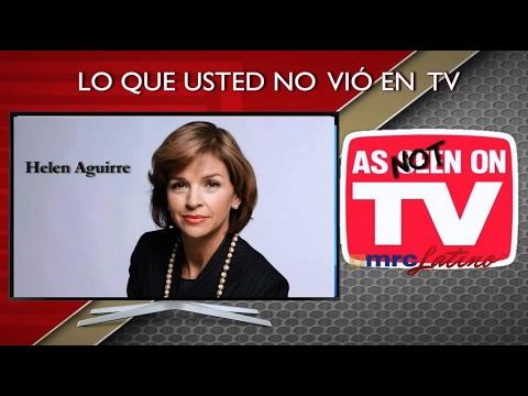 Helen Aguirre no dijo eso