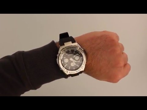 G-Shock Radio Controlled Solar Resin Strap Watch GST-W110-1AER - Hands On Review