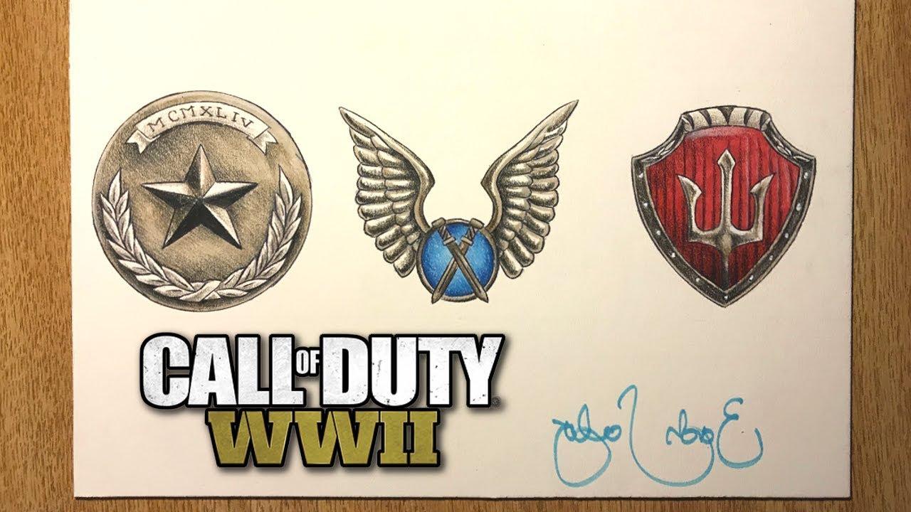 Call of duty world war 2 prestige emblems speed drawing call of duty world war 2 prestige emblems speed drawing prestiges 1 3 buycottarizona Gallery