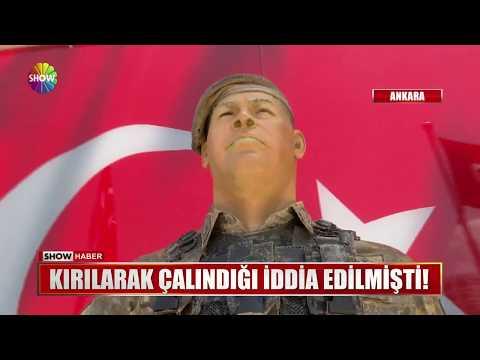 Ömer Halisdemir heykelinin silahı gitti!