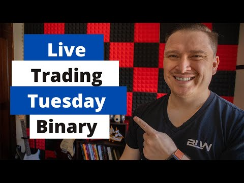 💵😱Live Trading Tuesday with Binary Options🤑📈
