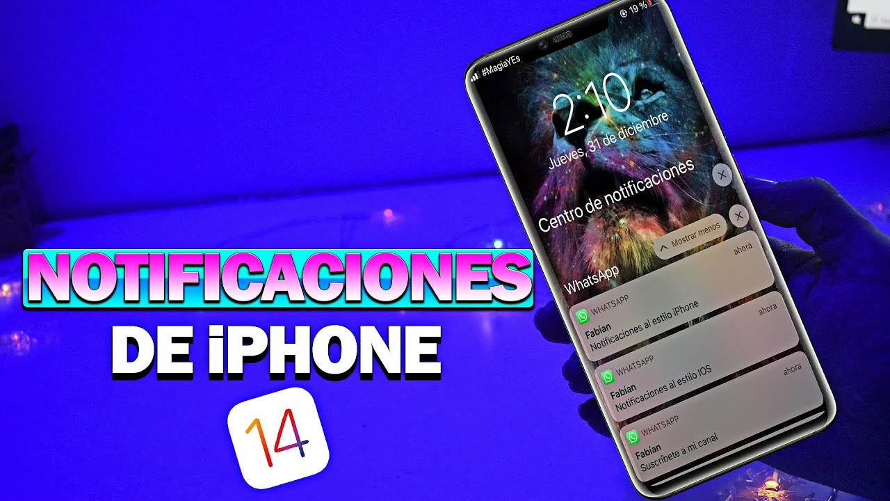 TENER LAS NOTIFICACIONES DE IPHONE EN ANDROID