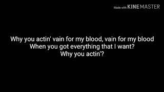 Lil Peep ILoveMakonnen Ft Fall Out Boy I Ve Been Waiting LYRICS