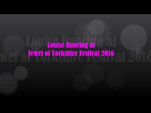 Louise Dancing at Jewel of Yorkshire Festival 2016