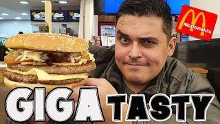 GIGA TASTY do Mcdonald's- A Evolução EXAGERADA do Big Tasty