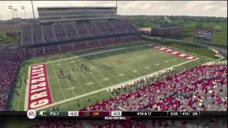 NCAA Football 10 (PS3) Teambuilder Gameplay: Cal Poly vs. Montana