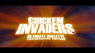 Chicken Invaders 4 Turkey Shooter Game iPhone App Review (Gameplay)
