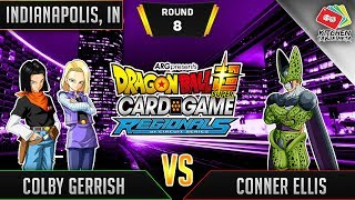Dragon Ball Super Card Game Gameplay [DBS TCG] Indianapolis Regional Round 8