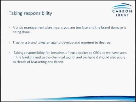 Inside Sustainability Webinar: protecting your brand from environmental risk