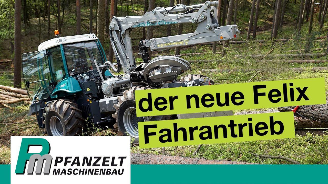 Der neue Pfanzelt Forstspezialschlepper Felix