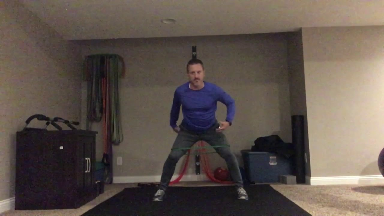 Mini-Band Exercises for Hip Stability