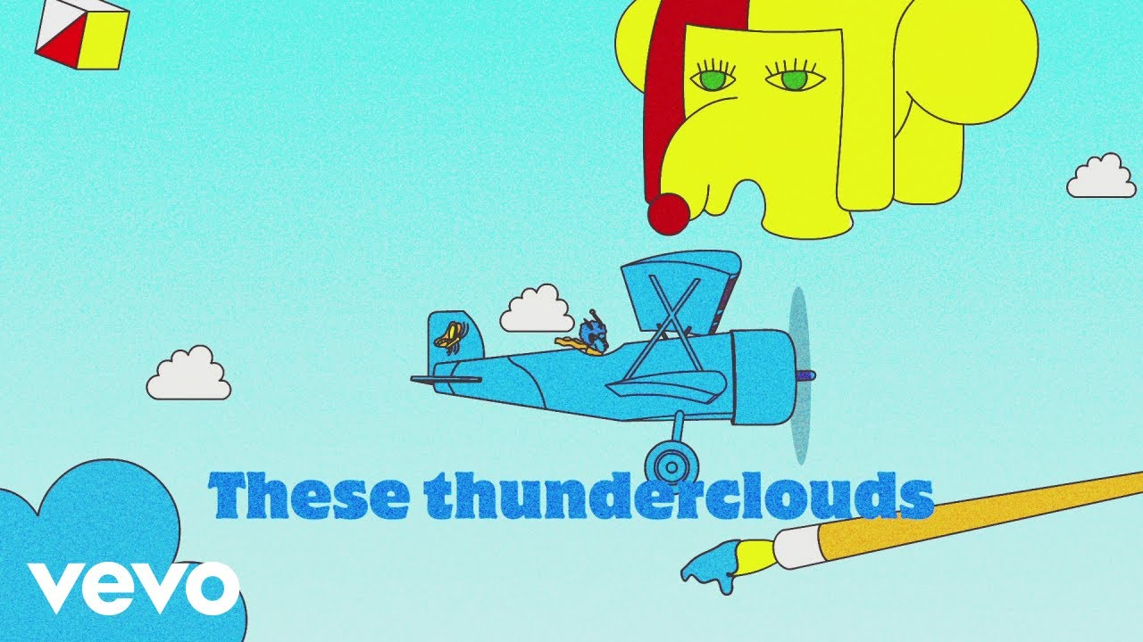 LSD - Thunderclouds (Official Lyric Video) ft  Sia, Diplo, Labrinth