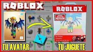 [VERY EASY] Make your ROBLOX AVATAR in Virtual TOY (and have it in your inventory)