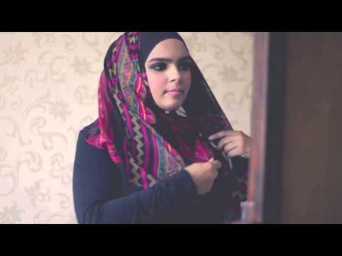 Princess Arabia Fashion Shawl Tutorial