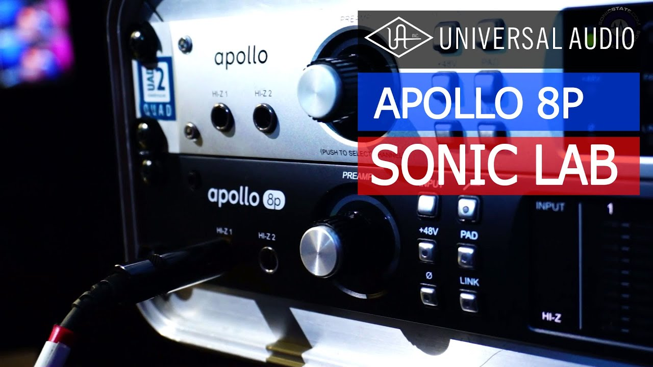 Sonic lab uad apollo 8p original apollo compared youtube stopboris Image collections