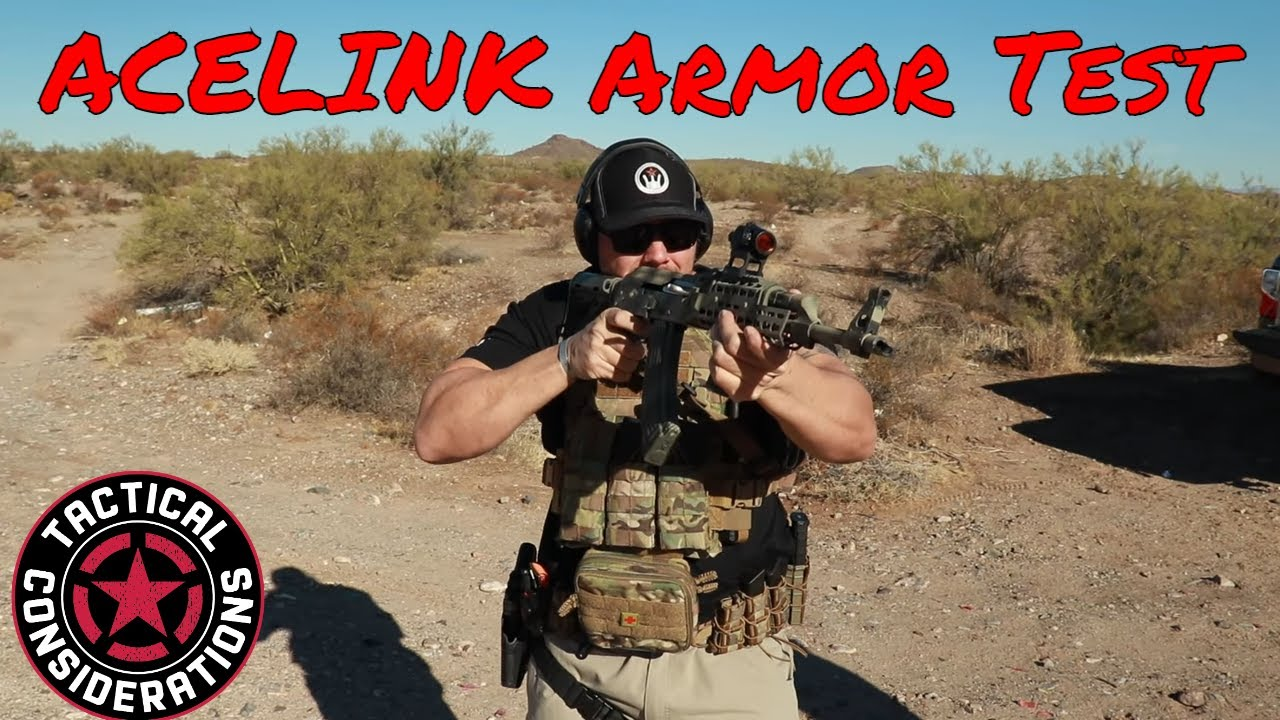 Acelink Level 3 Rifle Armor Serious Damage Going On